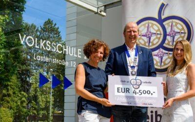 Club 41 Leibnitz hilft Leibnitzer Volksschülern